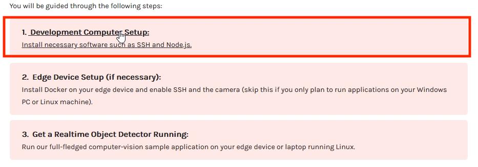 Windows Demo_2_Dev Setup