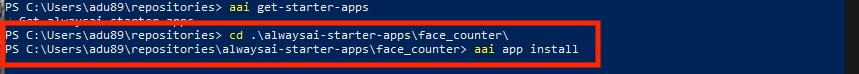 Windows Demo_5_App Install