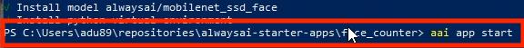 Windows Demo_6_App Start