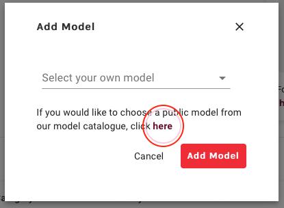alwaysAI Model catalog