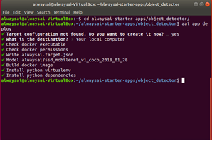 Ubuntu coding 2 from alwayasAI page