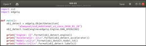 Testing NCS2 Configuration 2 using alwaysAI platform