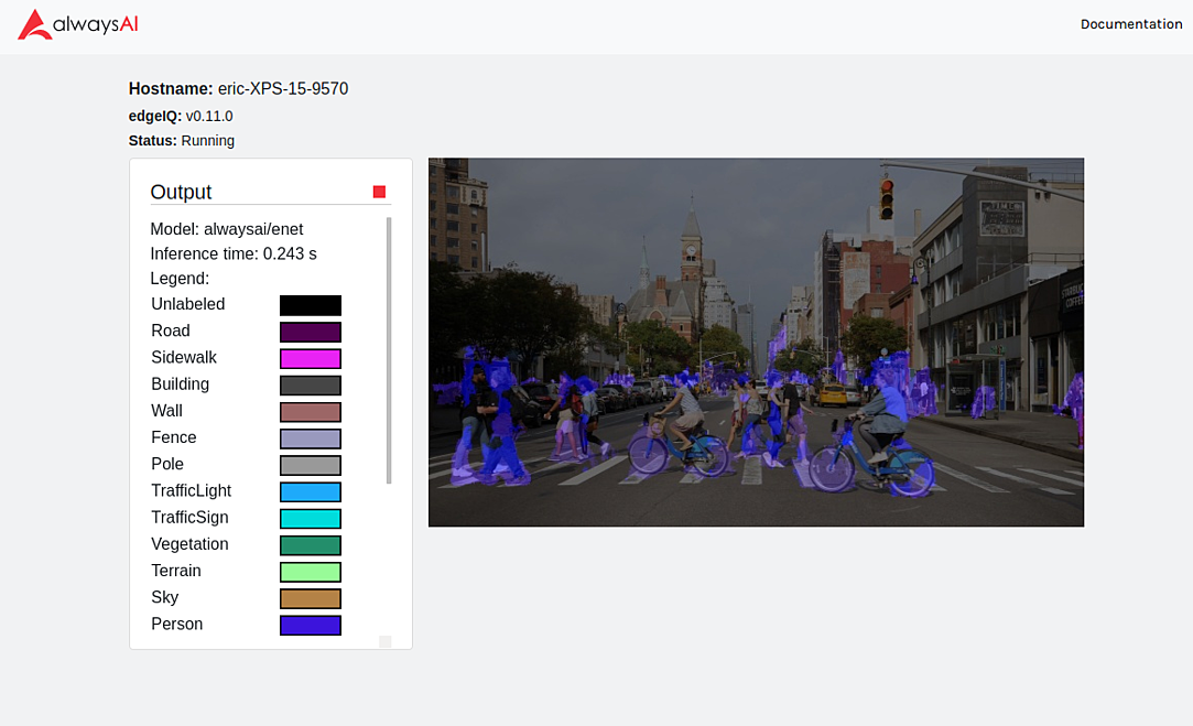 Blue-riders using Object Detection.