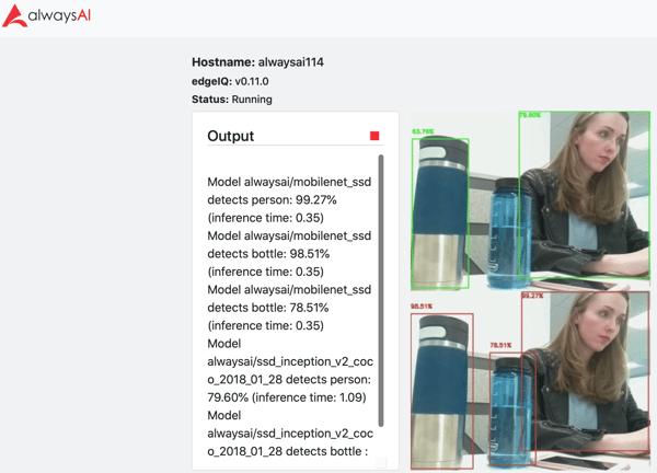 detection example