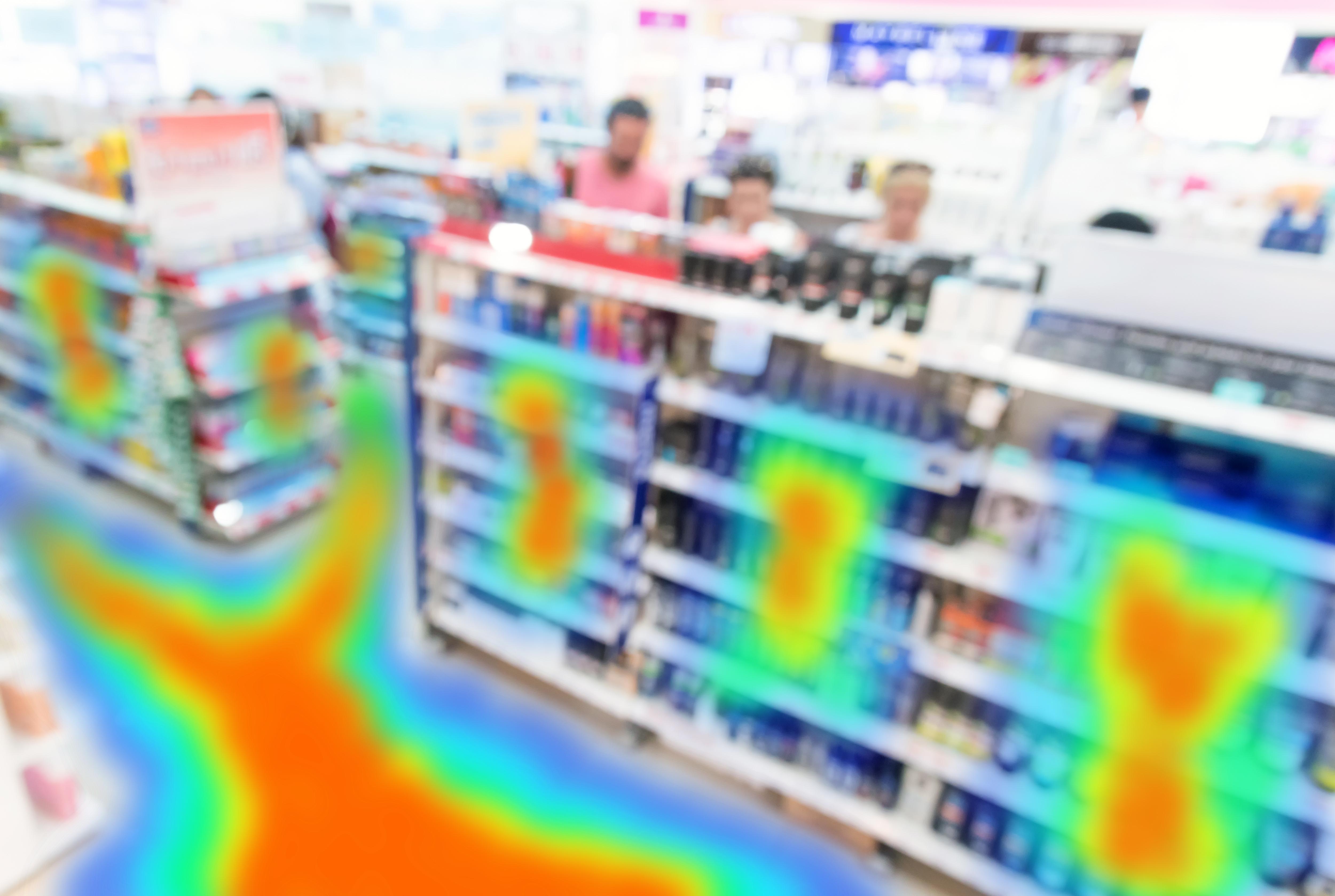 Retail-heat-map