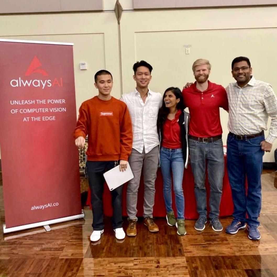 alwaysAI at Computer Vision Hackathon