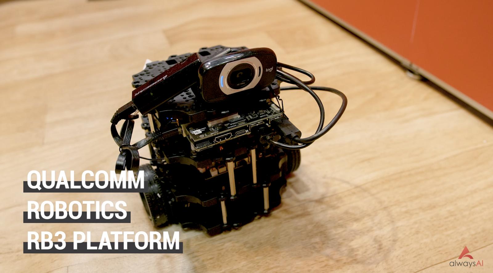 Qualcomm Robotics RB3 Platform turtle bot