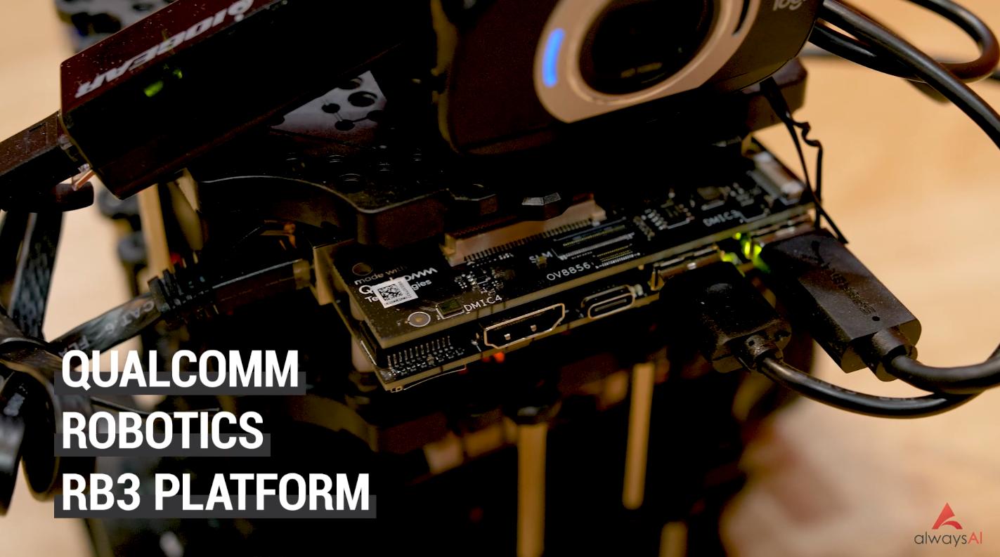 Qualcomm Robotics RB3 Platform
