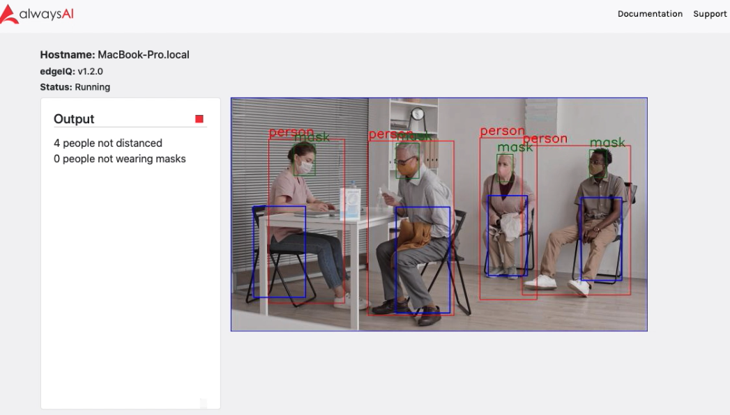 Object Detection for People with Masks
